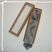 Dárková krabička na kravaty Batitex - malovaná, batikovaná trička, mikiny, hedvábné šátky, šály, kravaty