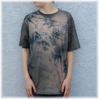 Pánské batikované a malované tričko - Neruš ! Batitex - malovaná, batikovaná trička, mikiny, šátky, šály, kravaty