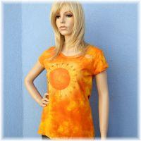 Batikované dámské tričko - Lážo plážo