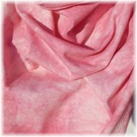 Bavlněný batikovaný šátek - Růžový Batitex - modní trička, šály, šátky