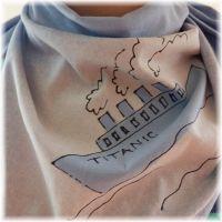 Bavlněný šátek - Titanic Batitex - modní trička, šály, šátky