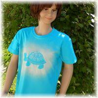 Dětské tričko - Je čas. Batitex - malovaná trička, mikiny, šátky, šály