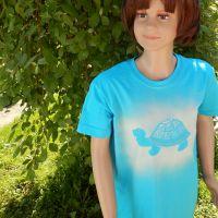 Dětské tričko - Je čas.