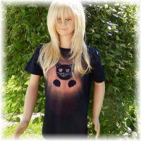 Dětské tričko - Nejsem tady! Batitex - malovaná trička, mikiny, šátky, šály