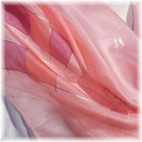 Hedvábný šátek - Porcelánová panenka 2