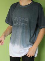 Pánské batikované tričko - Střídavý