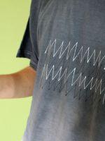 Pánské batikované tričko - Střídavý Batitex - modní trička, mikiny, šátky, šály, kravaty
