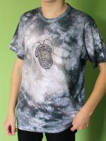 Pánské batikované tričko -Trilobiti