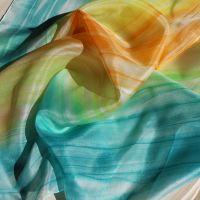 Hedvábný šátek - Kolibříci 2