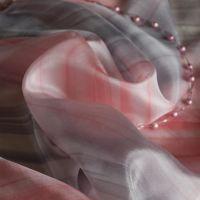 Hedvábný šátek - Purpurová 2