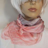 Hedvábný malovaný šátek - Purpurová 2 Batitex - malovaná, batikovaná trička, mikiny, hedvábné šátky, šály, kravaty
