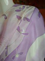 Hedvábný malovaný šátek - Polibek jmelí 2 Batitex - malovaná, batikovaná trička, mikiny, šátky, šály, kravaty