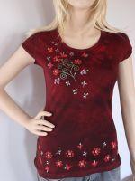 Batikované dámské tričko - Švarná Hanka