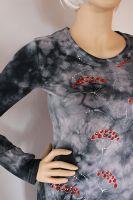Dámské batikované tričko - Jeřabiny Batitex - modní trička, mikiny, šátky, šály, kravaty