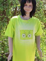 Dětské malované tričko - Cyklo