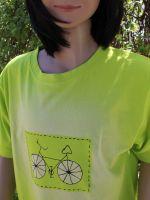 Dětské malované tričko - Cyklo Batitex - modní trička, mikiny, šátky, šály, kravaty