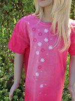Dětské malované tričko - Růženka Batitex - modní trička, mikiny, šátky, šály, kravaty