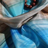 Hedvábný šátek - Nebe a země