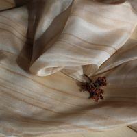 Hedvábný šátek - Oříšek