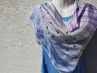 Hedvábný šátek - Prosím, zadejte se! Batitex - malovaná, batikovaná trička, mikiny, šátky, šály, kravaty
