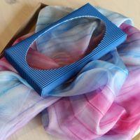 Hedvábný šátek - Rozalinda Batitex - modní trička, mikiny, šátky, šály, kravaty