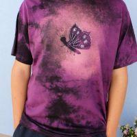 Pánské batikované tričko - Emanuel