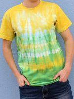 Pánské batikované tričko - Jarní Rio