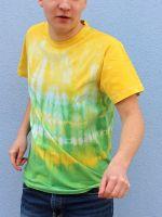Pánské batikované tričko - Jarní Rio Batitex - malovaná, batikovaná trička, mikiny, šátky, šály, kravaty