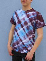Pánské batikované tričko - Křižovatky