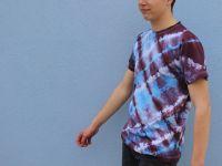 Pánské batikované tričko - Křižovatky Batitex - malovaná, batikovaná trička, mikiny, šátky, šály, kravaty