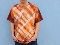 Pánské batikované tričko - Méďa Batitex - malovaná, batikovaná trička, mikiny, šátky, šály, kravaty