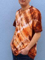 Pánské batikované tričko - Méďa