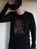 Pánské malované tričko - Čaroděj Dobroděj