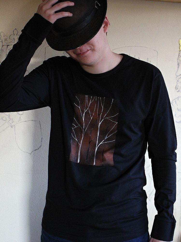 Pánské malované tričko - Čaroděj Dobroděj Batitex - modní trička, mikiny, šátky, šály, kravaty