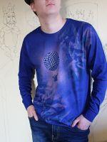 Pánské malované tričko - Ke hvězdám
