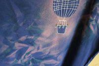 Pánské malované tričko - Ke hvězdám Batitex - modní trička, mikiny, šátky, šály, kravaty
