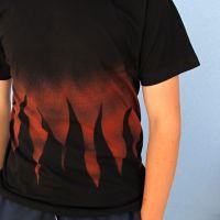 Pánské malované tričko - Rockový element