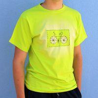 Pánské malované tričko - Cyklo
