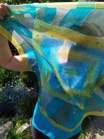 Hedvábný šátek -  V odlesku tůně 2