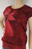 Batikované malované dámské tričko - Jsem motýla Batitex - malovaná, batikovaná trička, mikiny, hedvábné šátky, šály, kravaty