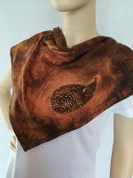 Bavlněný batikovaný šátek - Ježci Batitex - modní trička, mikiny, šátky, šály, kravaty