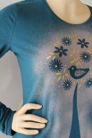 Dámské malované tričko - Domácí štěstí Batitex - malovaná trička, mikiny, šátky, šály