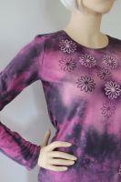 Dámské batikované tričko - Sedmikrásko, usínej!