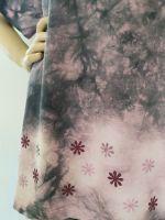 Dámské batikované maxi tričko - Čas rozkvétání Batitex - malovaná, batikovaná trička, mikiny, hedvábné šátky, šály, kravaty