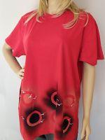 Dámské maxi tričko - Lodní průkaz Batitex - malovaná, batikovaná trička, mikiny, hedvábné šátky, šály, kravaty