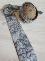 Hedvábná kravata - Holubí perutě Batitex - modní trička, mikiny, šátky, šály, kravaty