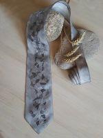Hedvábná kravata - Měsiční krajina Batitex - modní trička, mikiny, šátky, šály, kravaty