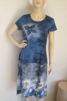 Malované batikované šáty - Motýlí poezie Batitex - malovaná, batikovaná trička, šaty, mikiny, šátky, šály, kravaty