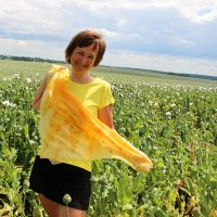 Hedvábný šátek - Mé slunce 2