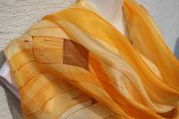 Hedvábný malovaný šátek - Svit podzimu 2 Batitex - malovaná, batikovaná trička, šaty, mikiny, šátky, šály, kravaty